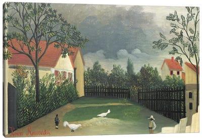 The Farm Yard, 1896-98 Canvas Print #BMN6320