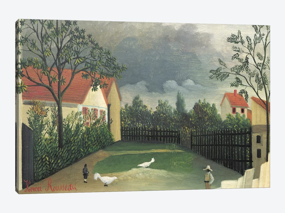 The Farm Yard, 1896-98 by Henri Rousseau 1-piece Canvas Art Print