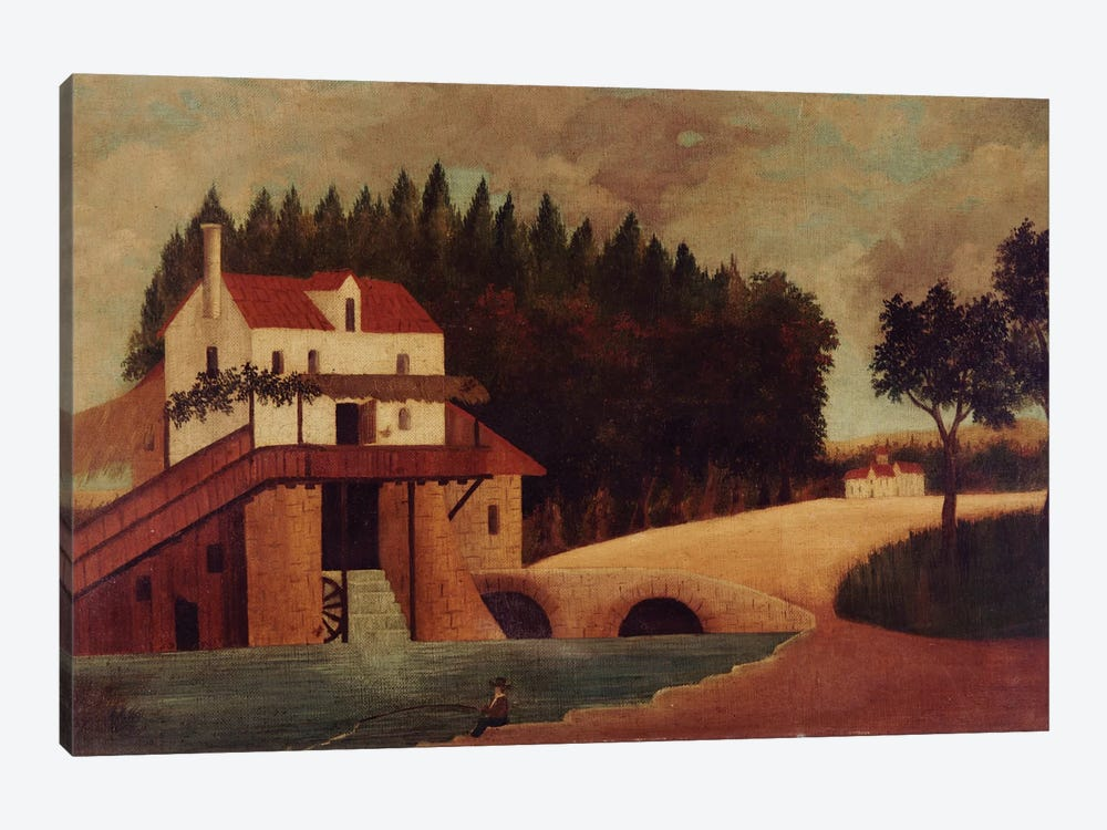 The Mill, c.1896 1-piece Canvas Art