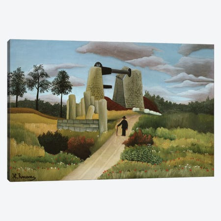 The Quarry Canvas Print #BMN6329} by Henri Rousseau Canvas Artwork