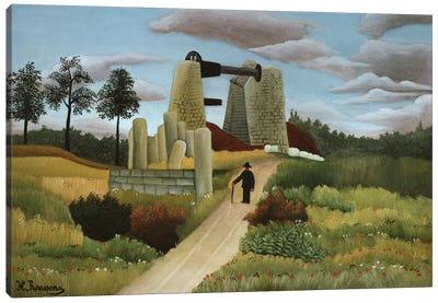 The Quarry Canvas Art Print