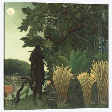 The Snake Charmer (La Charmeuse de Serpents), 1907 Canvas Print #BMN6331} by Henri Rousseau Canvas Art Print