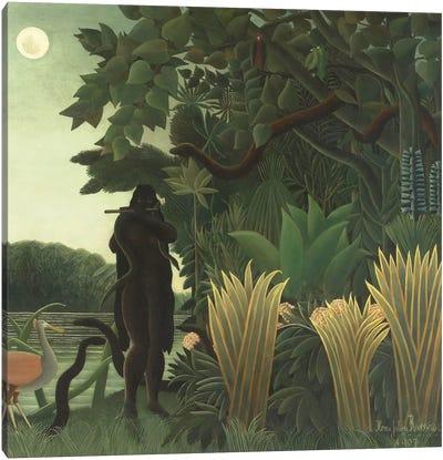 The Snake Charmer (La Charmeuse de Serpents), 1907 Canvas Art Print