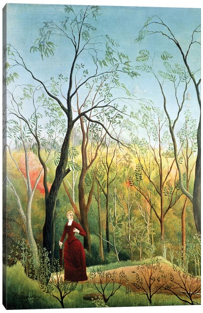The Walk In The Forest, 1886-90 Canvas Art Print