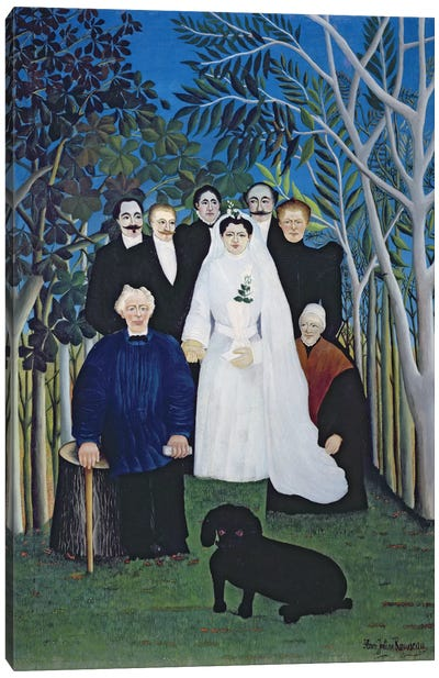The Wedding Party, c.1905 Canvas Art Print
