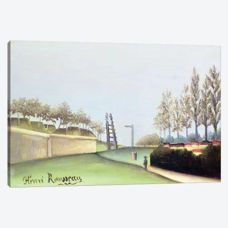 View From The Porte de Vanves, Paris, 1909 Canvas Print #BMN6341} by Henri Rousseau Canvas Art