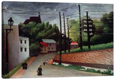 View OF Malakoff, Hauts-de-Seine, 1908 Canvas Art Print