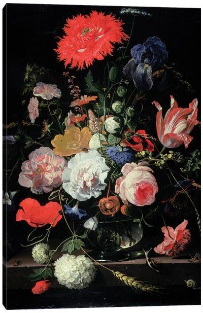 Flower-piece Canvas Art Print