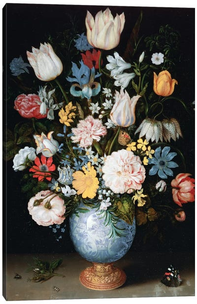 Bouquet Of Flowers, 1609 Canvas Art Print
