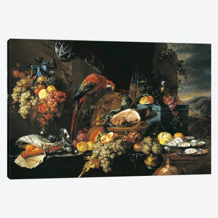 Austria, Vienna Still Life Canvas Print #BMN6380} by Jan Davidsz de Heem Canvas Art