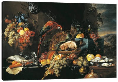 Austria, Vienna Still Life Canvas Art Print
