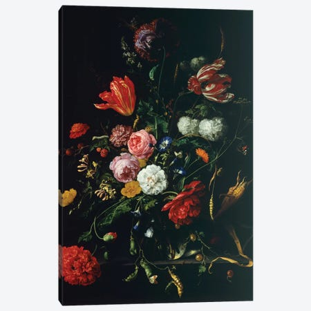 Still Life Canvas Print #BMN6381} by Jan Davidsz de Heem Canvas Art