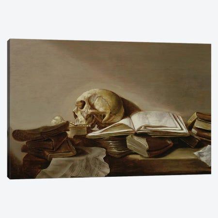 Vanitas Canvas Print #BMN6382} by Jan Davidsz de Heem Canvas Artwork
