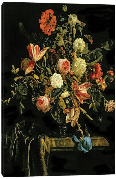 Flower Still Life, 1706 Canvas Art Print