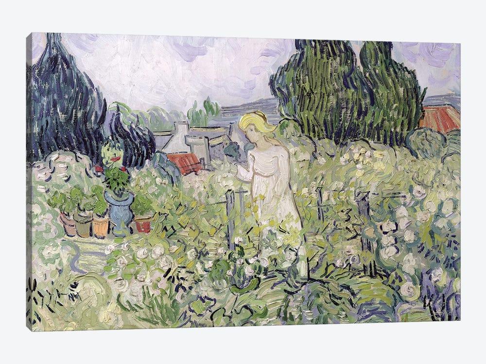 Mademoiselle Gachet in her garden at Auvers-sur-Oise, 1890  by Vincent van Gogh 1-piece Art Print