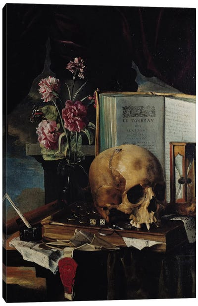 Vanitas I Canvas Art Print