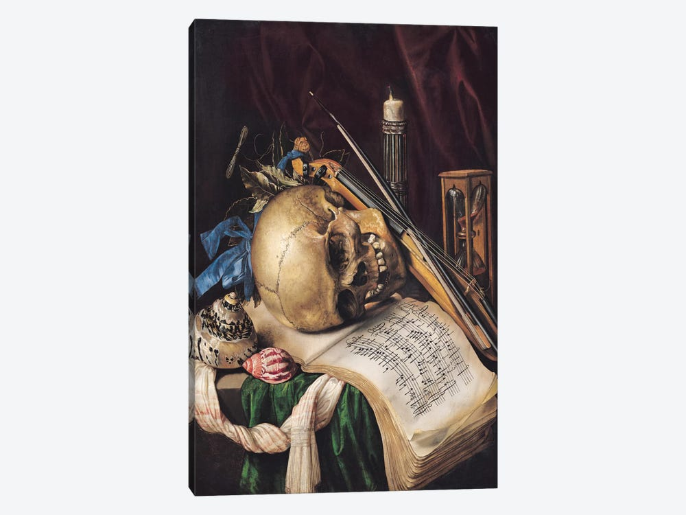Vanitas II by Simon Renard de Saint-Andre 1-piece Canvas Wall Art