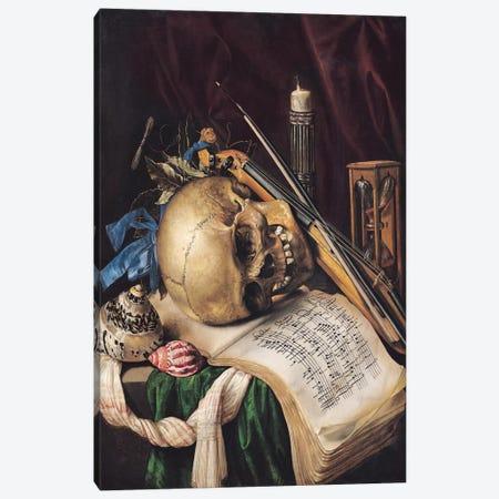 Vanitas II Canvas Print #BMN6408} by Simon Renard de Saint-Andre Canvas Art Print