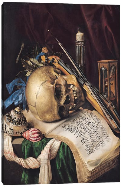 Vanitas II Canvas Art Print
