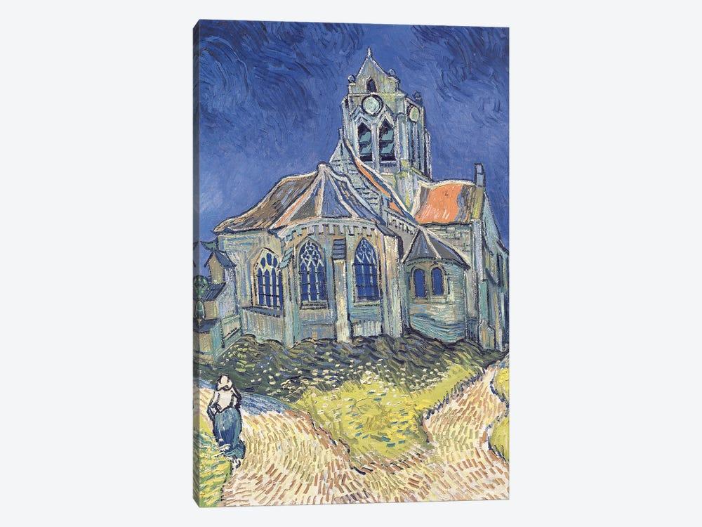 The Church at Auvers-sur-Oise, 1890  by Vincent van Gogh 1-piece Art Print