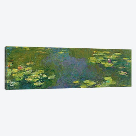 The Waterlily Pond (Le Bassin aux Nympheas), 1919 Canvas Print #BMN6415} by Claude Monet Canvas Art Print