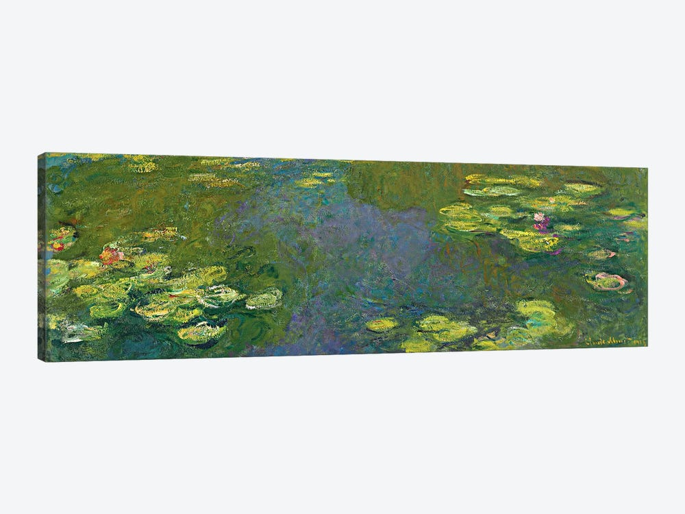 The Waterlily Pond (Le Bassin aux Nympheas), 1919 by Claude Monet 1-piece Canvas Art
