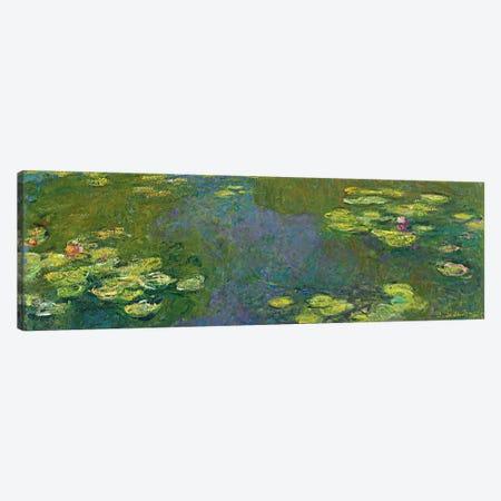 The Waterlily Pond (Le Bassin aux Nympheas), 1919 Canvas Print #BMN6415} by Claude Monet Canvas Art Print