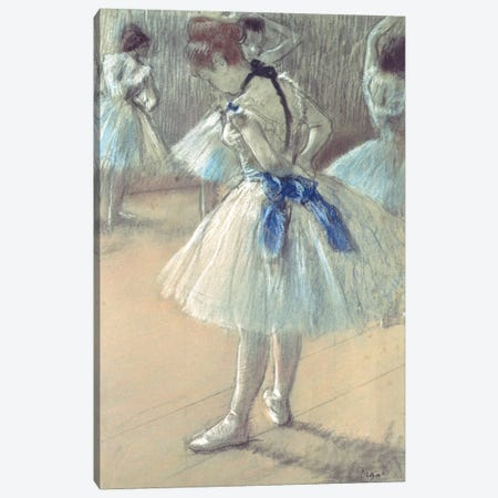 Dancer Canvas Print #BMN6417} by Edgar Degas Art Print