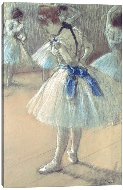 Dancer Canvas Art Print