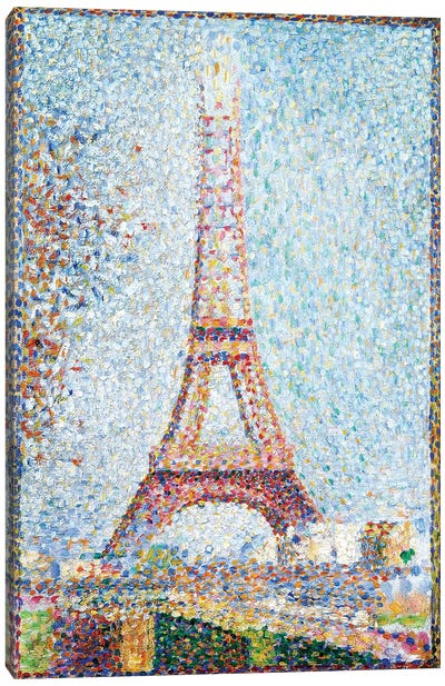 The Eiffel Tower, 1889 Canvas Art Print