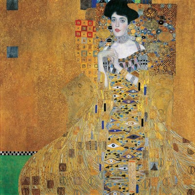 portrait of adele bloch bauer i 1907 art print by gustav klimt icanvas. Black Bedroom Furniture Sets. Home Design Ideas