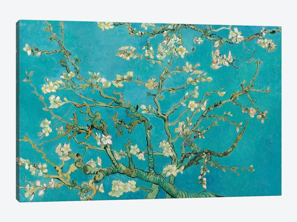 Almond Blossom, 1890 by Vincent van Gogh 1-piece Canvas Wall Art