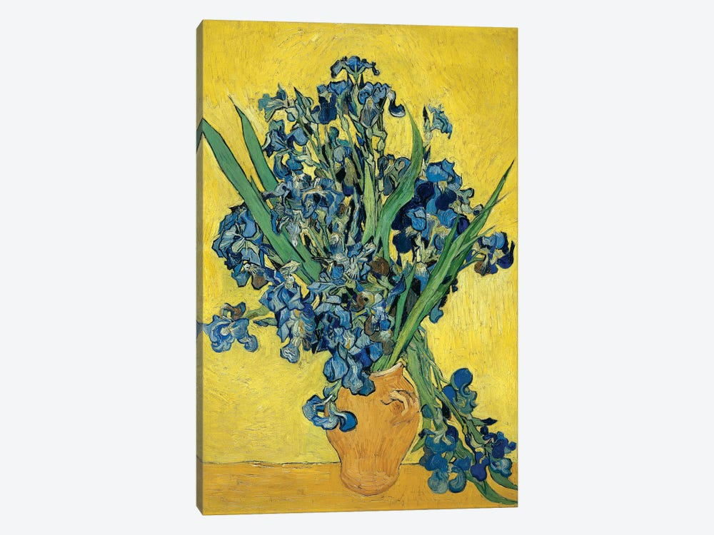 Irises, 1890 by Vincent van Gogh 1-piece Art Print