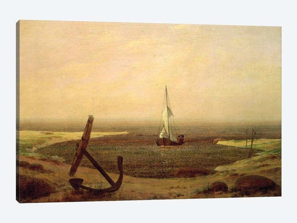Evening by Caspar David Friedrich 1-piece Canvas Artwork
