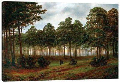 Evening, 1820-26 Canvas Art Print