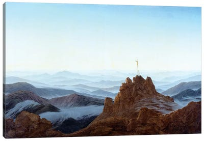 Morning In The Riesengebirge, 1810-11 Canvas Art Print