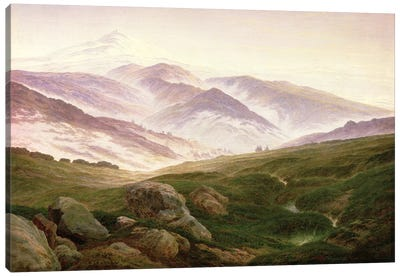 Reisenberg, The Mountains Of The Giants, 1839 Canvas Art Print