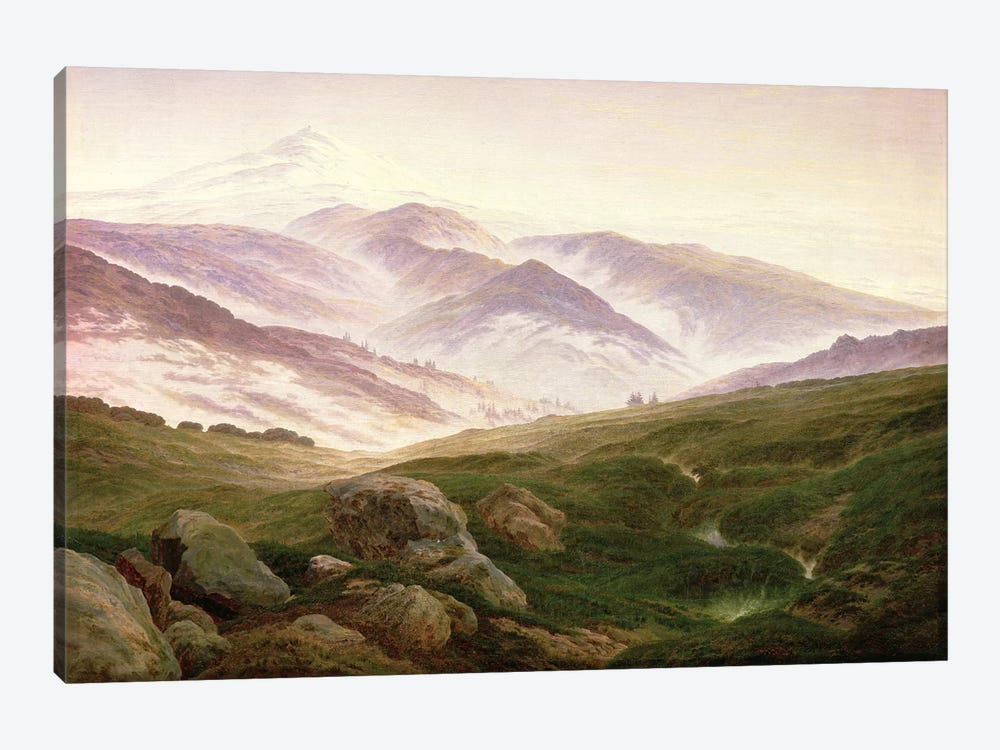 Reisenberg, The Mountains Of The Giants, 1839 1-piece Canvas Artwork