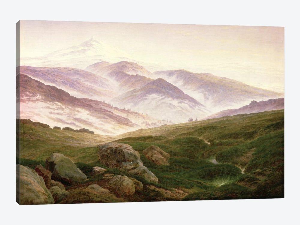 Reisenberg, The Mountains Of The Giants, 1839 by Caspar David Friedrich 1-piece Canvas Artwork