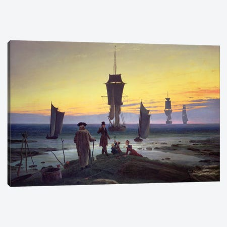 The Stages Of Life, c.1835 Canvas Print #BMN6438} by Caspar David Friedrich Canvas Artwork