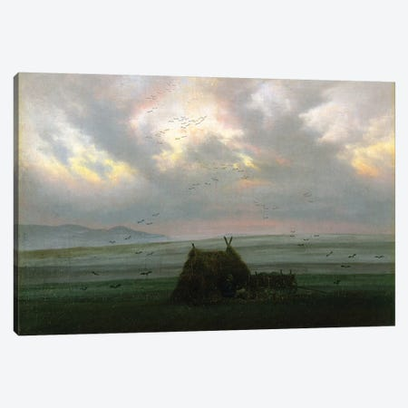 Waft Of Mist, c.1818-20 Canvas Print #BMN6440} by Caspar David Friedrich Canvas Art Print
