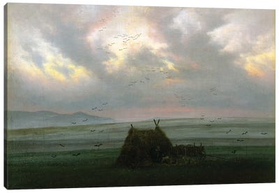 Waft Of Mist, c.1818-20 Canvas Art Print