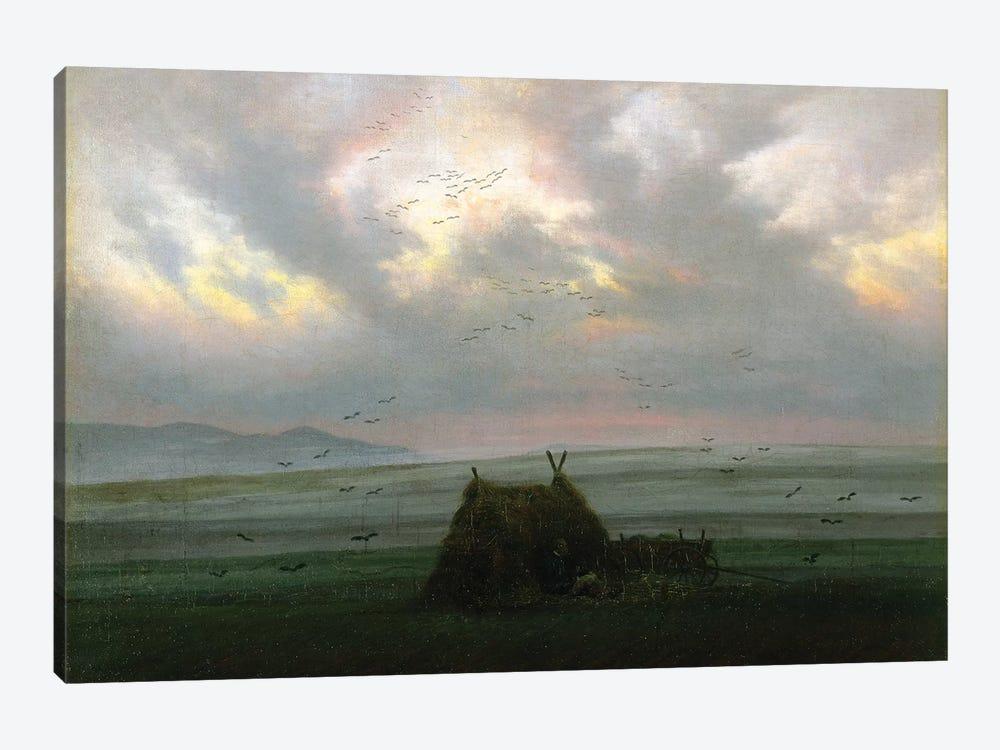 Waft Of Mist, c.1818-20 by Caspar David Friedrich 1-piece Canvas Artwork