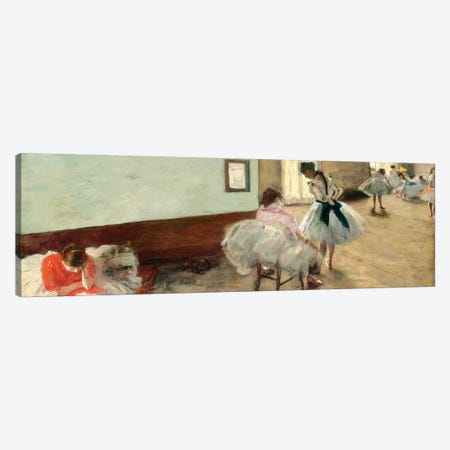 The Dance Lesson, c.1879 Canvas Print #BMN6448} by Edgar Degas Canvas Art Print
