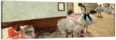 The Dance Lesson, c.1879 Canvas Art Print