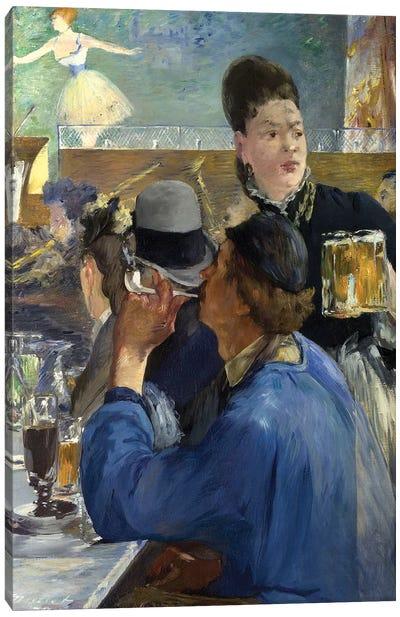 Corner Of A Café-Concert, 1878-80 Canvas Print #BMN6450