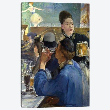 Corner Of A Café-Concert, 1878-80 Canvas Print #BMN6450} by Edouard Manet Canvas Art