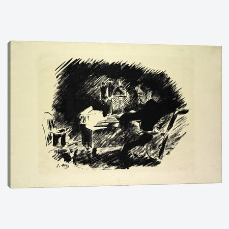 Le Corbeau (The Raven), 1875 Canvas Print #BMN6452} by Edouard Manet Canvas Art