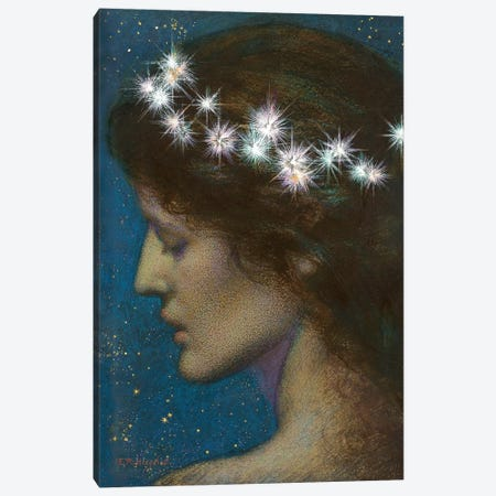 Night Canvas Print #BMN6456} by Edward Robert Hughes Canvas Art Print