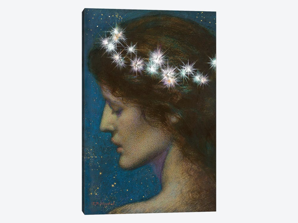 Night by Edward Robert Hughes 1-piece Art Print
